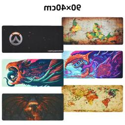 Gaming Mouse Pad Large Speed Gaming Desk Mat Hyper Beast Wor