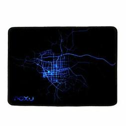 """Luxon Gaming Mouse Pad 10""""x8"""" Mouse Mat,Black"""