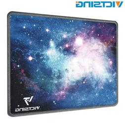 VicTsing Gaming Mouse Pad with Stitched Edges Non-Slip Rubbe