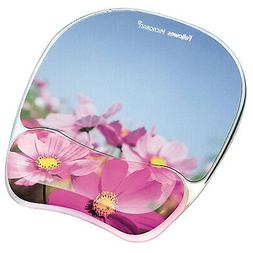 "Fellowes Gel Mouse Pad W/Wrist Rest, Photo, 9 1/4"" X 7 1/3"","