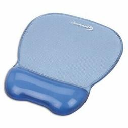 INNOVERA Gel Mouse Pad w/Wrist Rest, Nonskid Base, 8-1/4 x 9