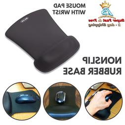 Gel Mouse Pad With Wrist Rest Ergonomic Pain Relief Cushion