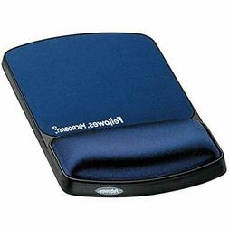 Fellowes Gel Wrist Support Mouse Pad With Microban Protectio