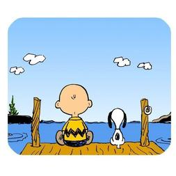 Generic Cute Cartoon Peanuts Snoopy Non-Slip Rubber Mousepad