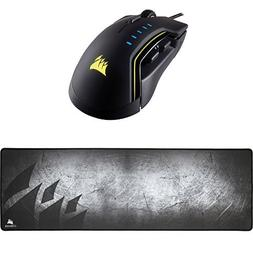Corsair GLAIVE RGB Gaming Mouse, Backlit LED, 16000 DPI, Opt