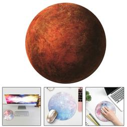 Home Office Round Galaxy Mouse Pad Mat For Laptop Notebook C