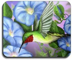 Hummingbird & Flowers Mouse Pad - By Art Plates