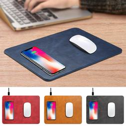 For iPhone X 8 Plus Luxury Qi Wireless Charger Fast Charging
