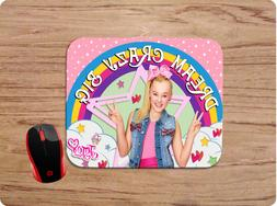 JOJO SIWA DREAM CRAZY BIG CUSTOM MOUSE PAD MAT NON-SLIP SCHO