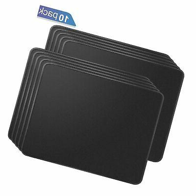 10 pack mouse pad with stitched edges