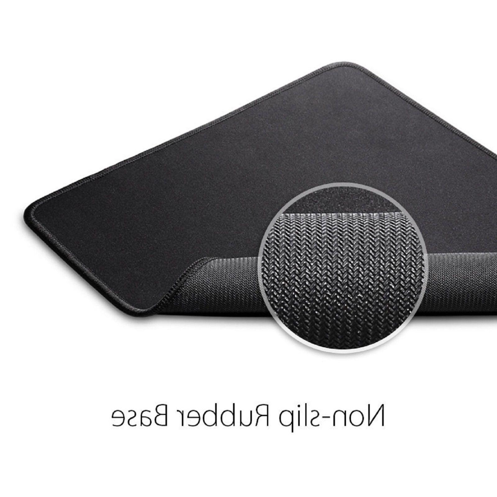 2-Pack Slip Rubber Mat Mouse Pad Optical