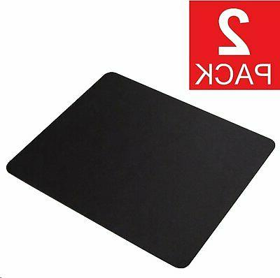 2-Pack Stitched Soft Non Slip Rubber Mat Mouse Pad Laptop Co