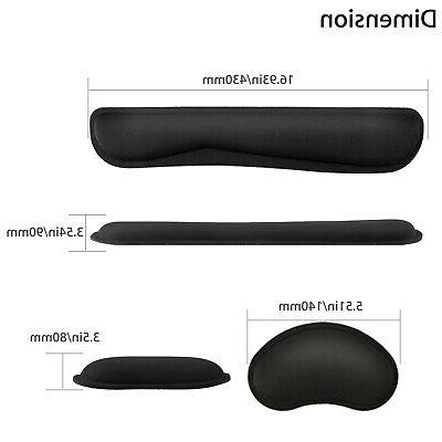 Memory Rest Mouse Wrist Cushion