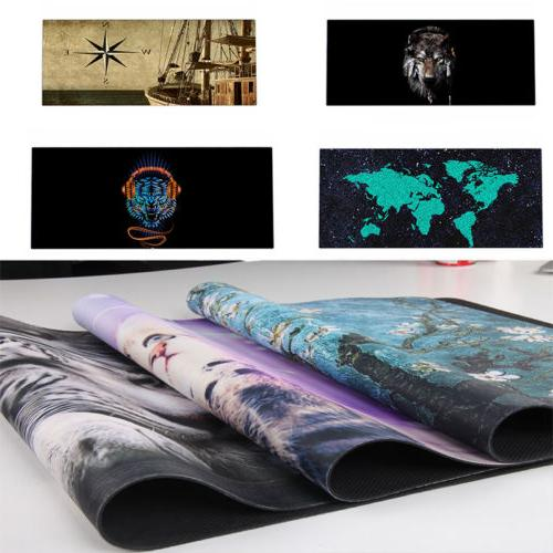 50 Prints Extended Gaming Wide Large Computer Mouse Pad Big
