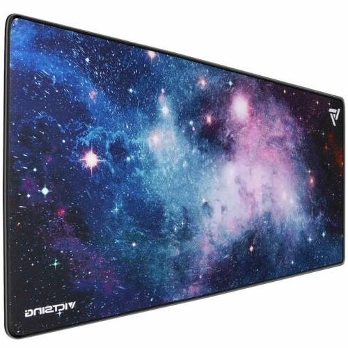 800 400mm galaxy large gaming mouse pad