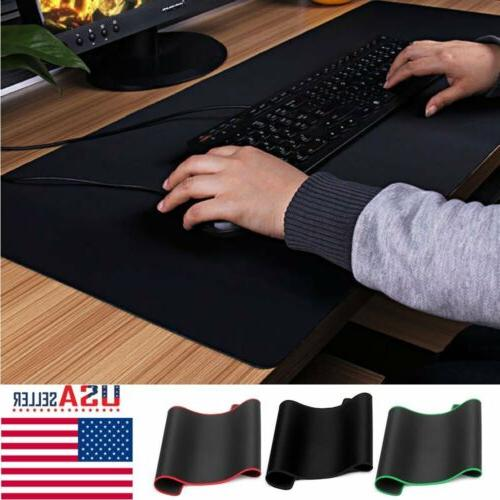 800x300mm Large Gaming Mouse Pad Desk Laptop Computer PC Mic