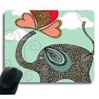 Adorable Personalized Elephant Unique Design Decorate Mouse