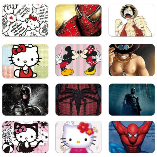 Cartoon Disney and Marvel Pattern Mouse Pad Mat Soft Rubber