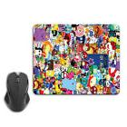 Cartoon Sticker Boom Funny Computer Mouse Pad Mat PC Mice