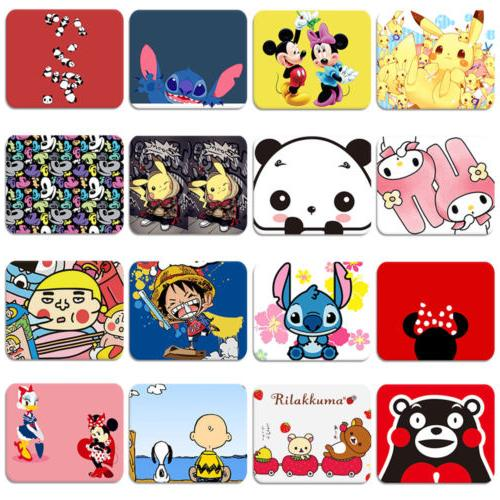 Disney Cartoon Collection Soft Rubber Mouse Pad Mat Laptop C