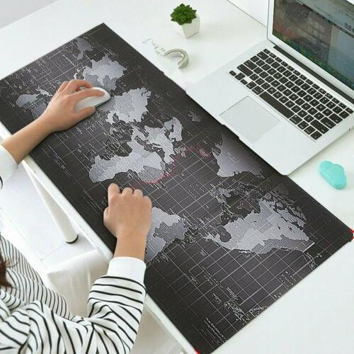 700x300mm large world map gaming mouse mat