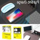 Fast Charging Mouse Pad QI Wireless Charger Mat for IPhone X