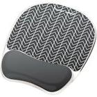 Fellowes Photo Gel Mouse Pad Wrist Rest With Microban FLW954