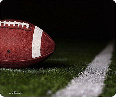 Football On Field By Yard Line Mouse Pad