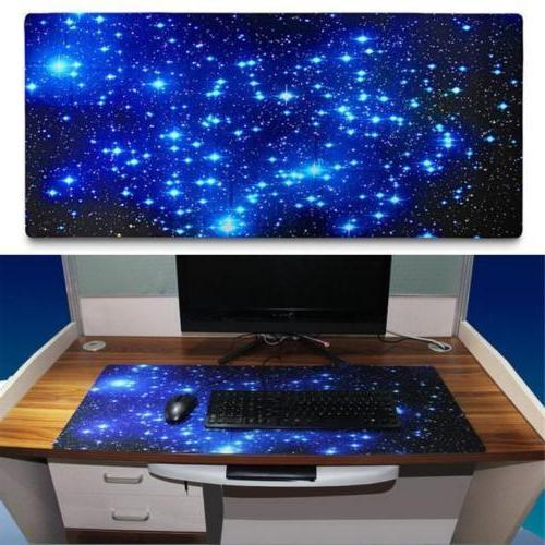 Galaxy Large Mouse Pad Big PC Pad Long Large Gamer Anti-Slip