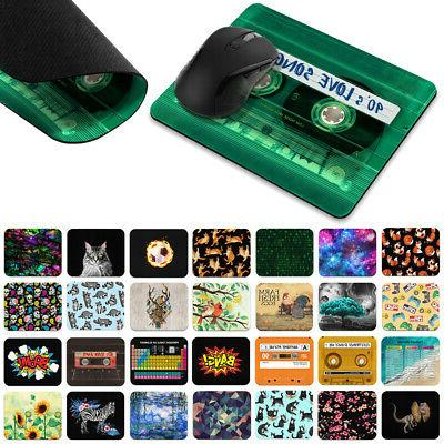 Gaming Mouse Mat Pad Non-Slip Rectangle Mousepad Designs For