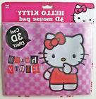 Hello Kitty Mouse Pad with 3D Effect - Pink Hello Kitty Mous