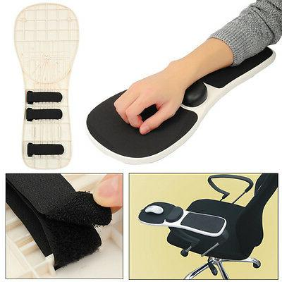 Home Office Computer Arm Rest Chair Armrest Mouse Mat Pad Wr
