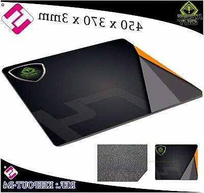 INK PAD R4 GAMING KEEP OUT 17 23/32X14 9/16X0 1/8in MOUSE MA