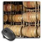 Israel, Wooden barrels at Golan Heights Winery, Mouse Pad, 8