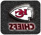KANSAS CITY CHIEFS MOUSE PAD 1/4 IN. SPORTS FOOTBALL NFL MOU