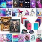 Kids Gift Universal Leather Stand Flip Folio Case Cover For