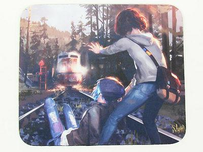 Life is Strange game Max and Chloe Train yard save concept a