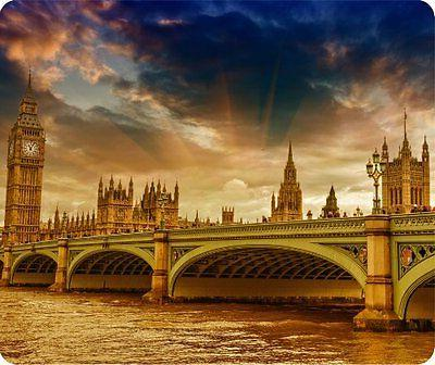 London Night Big Ben Thick Mouse Pad