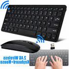 Mini 2.4G Wireless Keyboard and DPI Optical Mouse Combo for
