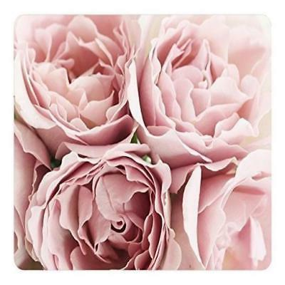 ❤❤ Mouse Pad Pink Roses 36230 Oblong Shaped Mat Design N