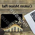 """Music Notes With Piano Cool Mouse Pad 1/8"""" thick-7.75""""x9.25"""""""