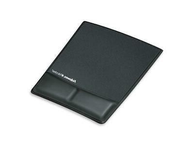 Pad,Computer,Mous/Wrst,Black FELLOWES 9180901