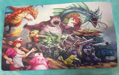 Pokemon Card game Play mat, Game Mat. Mouse pad. Size: