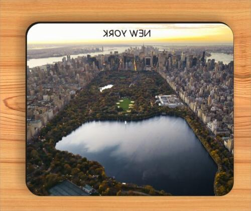 SOUVENIR FROM NEW YORK CENTRAL PARK MOUSE PAD -hky7Z