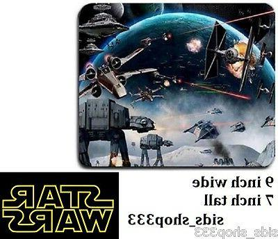 STAR WARS BATTLE SPACE AT AT Anti slip COMPUTER MOUSE PAD 9