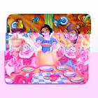 Snow White Happy Hungry 7 dwarfs vibrant mouse pad