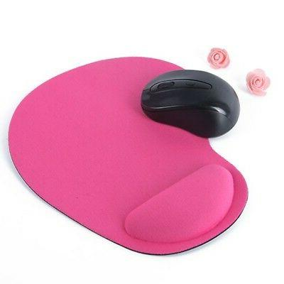 Soft Rest Support Antislip Mice Pad Laptop Computer PC Gaming