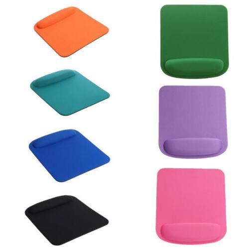 Square Pad With Wrist Rest Fabric 7 Colors top