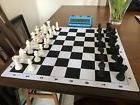 Staunton Tournament Chess Set with Made in Poland Chessmen C