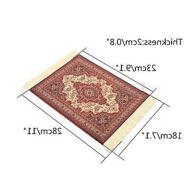 """US 11""""x7.1"""" Mouse Fabric Rug Mat Mousepad Retro Style Pattern"""